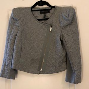 BCBG knitted cropped jacket